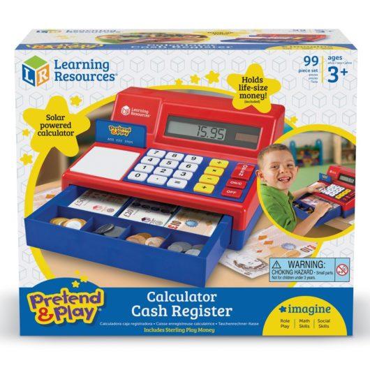 Uk play money in a brilliant Children's cash register