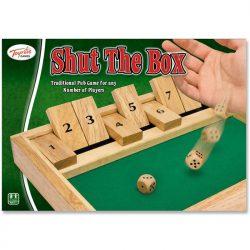 Shut The Box Game - box front