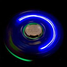 Spinzipz Blue & Green Light Up Hand Spinner