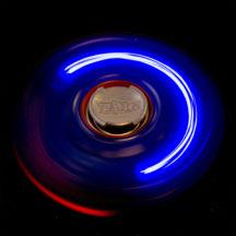 Spinzipz Red & Blue Light Up Hand Spinner