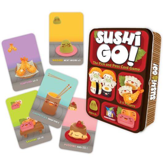 Gamewright Sushi Go! - Video