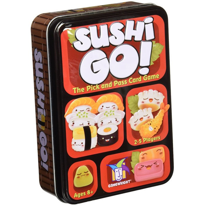 Gamewright fast paced sushi themed card game for 2 to 5 players