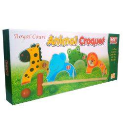 Animal Croquet Garden Games Set, box