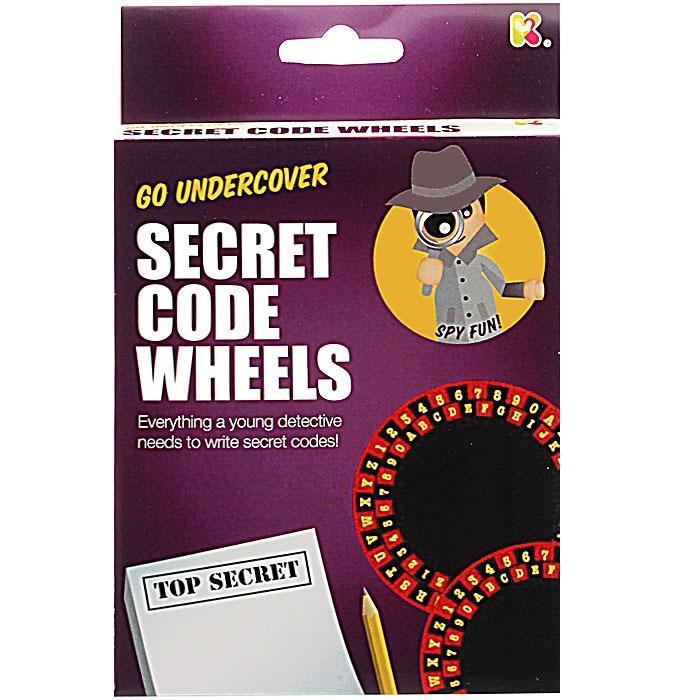 Mini Secret Code Wheels Kit