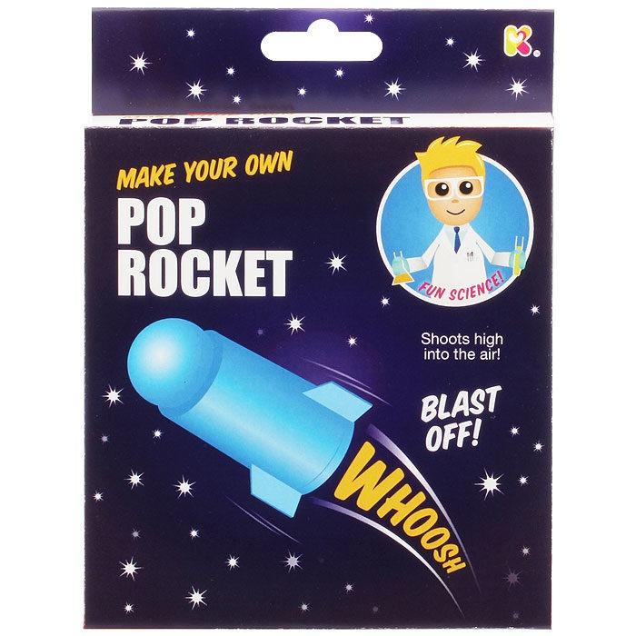 Children's bicarbonate of soda mini pop rocket science experiment