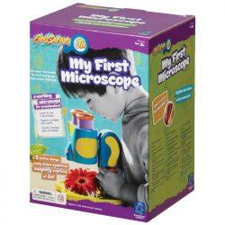Box front - Geosafari Jr. My First Microscope