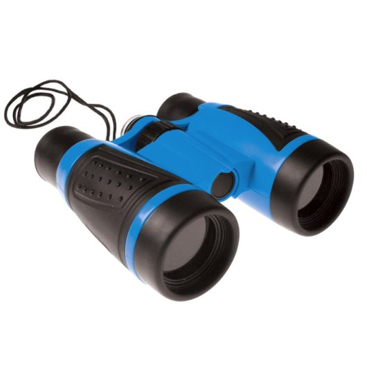 Children's binoculars with built in compass and 4x magnification