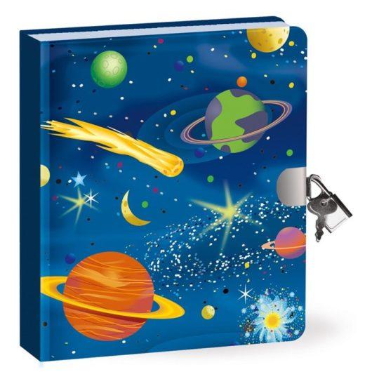 Children's glow in the dark lockable secret diary