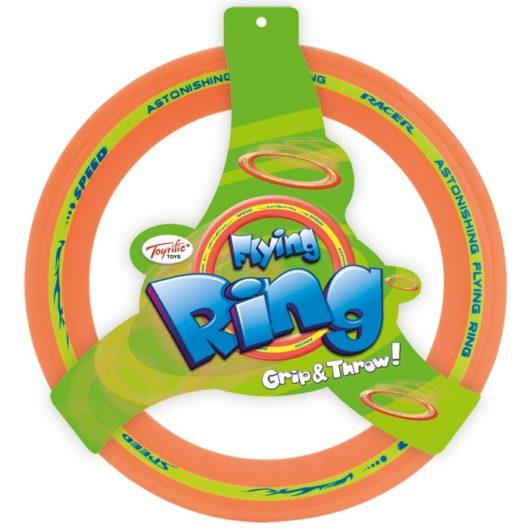 Children's outdoor rubber flying ring toy measuring 29cm in diameter