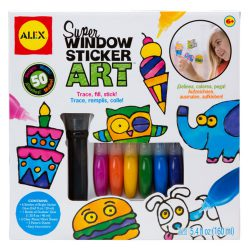 Create your own window stickers with this kids craft kit