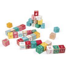 Janod Kubix Letter and Number Blocks