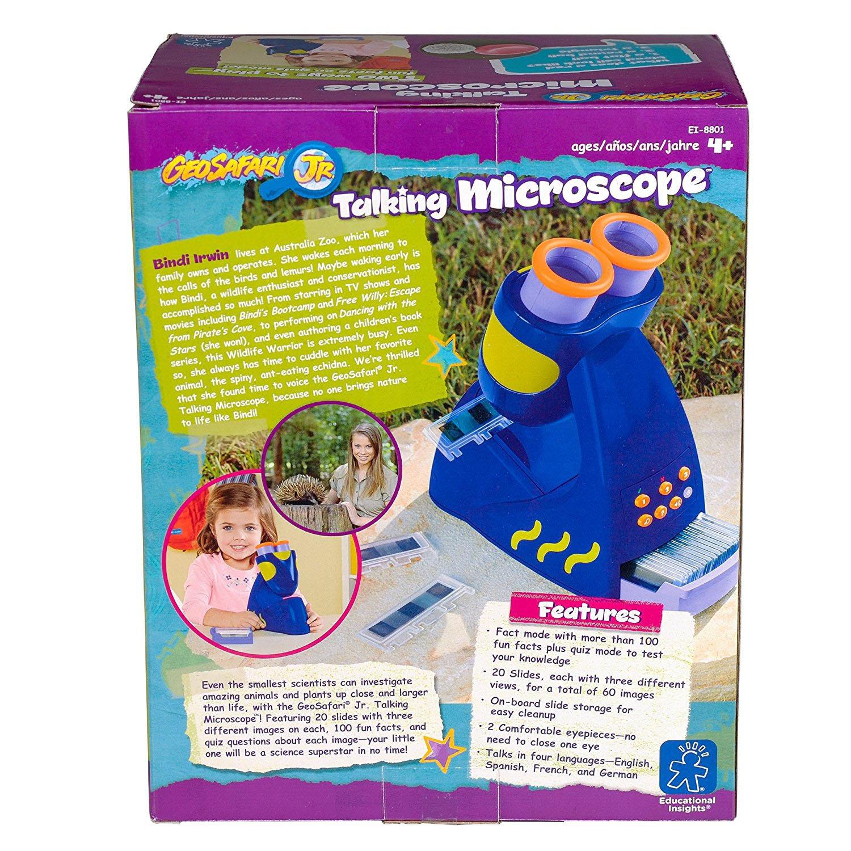 Educational Insights Geosafari Jr Talking Microscope