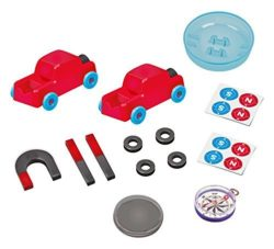 Kids can ecplore magnetism with this early introduction full of experiments and magnets!