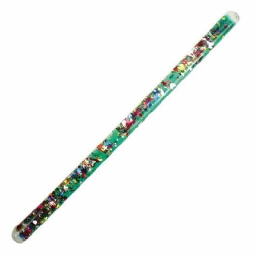 A glittering sensory tube for children