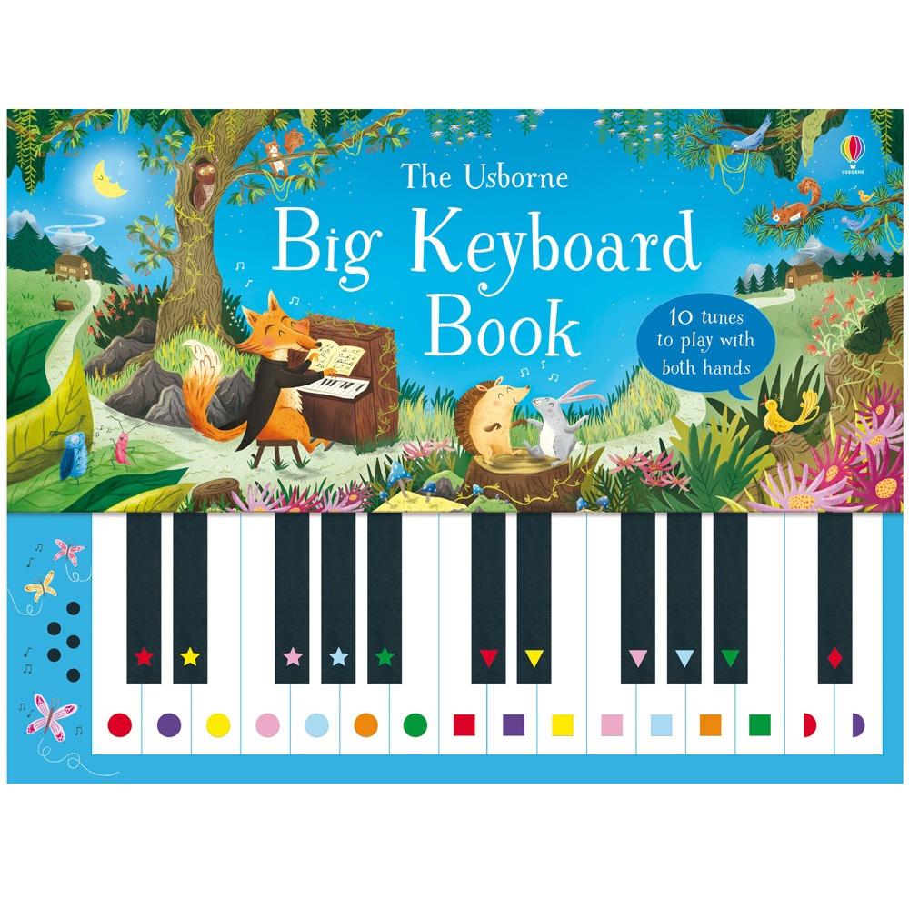 Usborne Big Keyboard Book Fun Learning