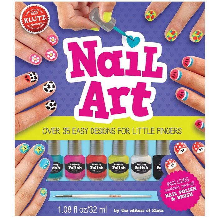 Klutz Nail Art Book - Fun Learning
