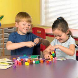 Mathlink cubes activity set
